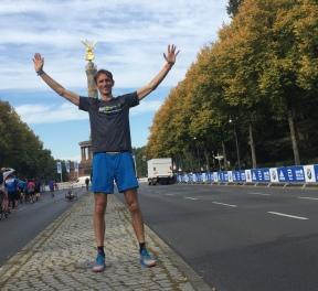 Walter in Berlijn, mijn eerste marathon