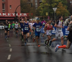 Mijn eerste marathon, halverwege